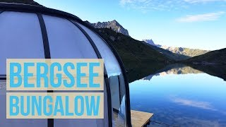 Wir besuchen das Bergsee Bungalow auf dem Partnunsee von LittleCity