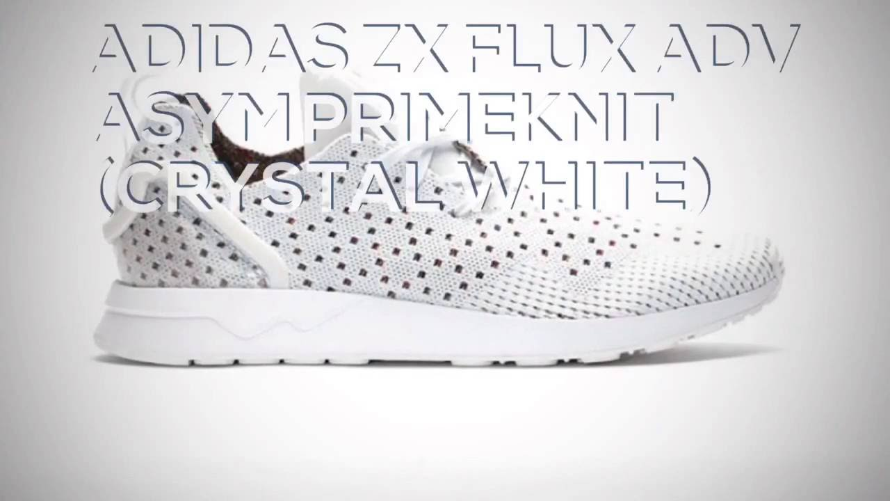 adidas Originals ZX FLUX ADV VIRTUE EM Trainers chalk white