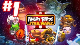 angry birds star wars 2 gameplay walkthrough part 1 level b1 1 to level b1 5