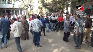 وقفة احتجاجية للعاملين بجهاز«السينما» اعتراضا على «الخدمة المدنية»