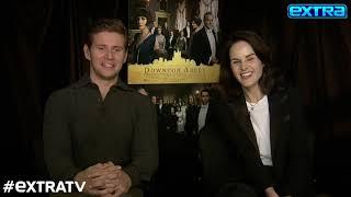 Betrayal, Fighting, Dancing? Billy Bush Quizzes Michelle Dockery & Allen Leech on 'Downton Abbey'