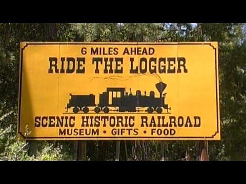 Forest Railways in California - Donnergrollen in den Bergen