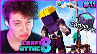 DIE KRASSESTE FARM IN CRAFT ATTACK | CRAFT ATTACK 8 #11