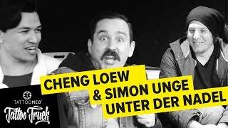 CHENG LOEW & SIMON UNGE bekommen neue Tattoos im TATTOO TRUCK | TattooMed