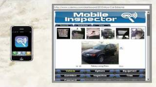 Selling Cars Online | cDemo Mobile Inspector