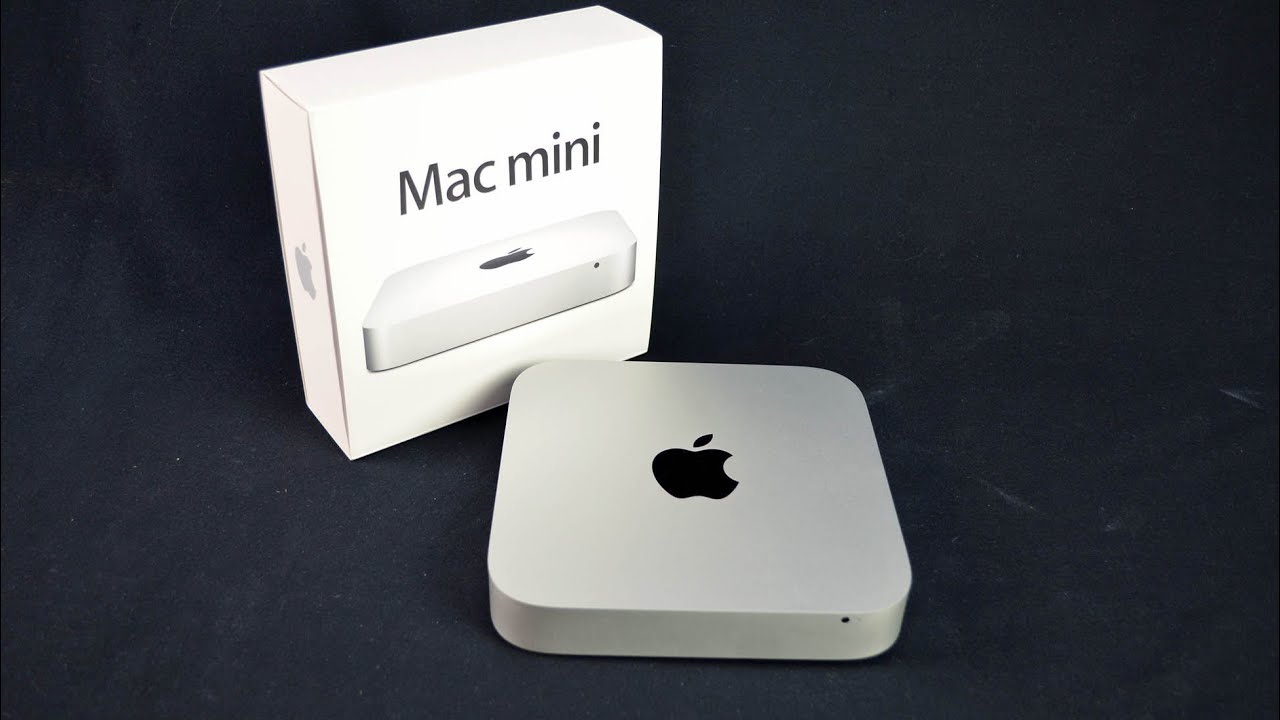 New Apple Mac Mini 2012 Unboxing Amp Demo Youtube