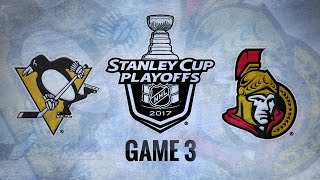 Sens use strong 1st to down Pens in Game 3, 5-1