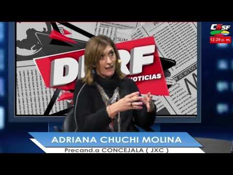 Chuchi Molina: Vamos a ser una oposición constructiva