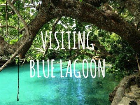 VISITING BLUE LAGOON! - EFATE, VANUATU