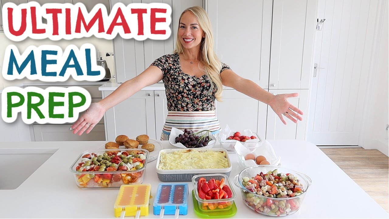 ULTIMATE FAMILY MEAL PREP IN 2 HOURS  |  EASY MEAL INSPIRATION  |  Emily Norris