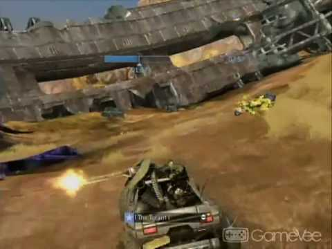 "Halo 3 All Skulls On: Tsavo Kamikaze on ""Mythic"" Tsavo Highway"