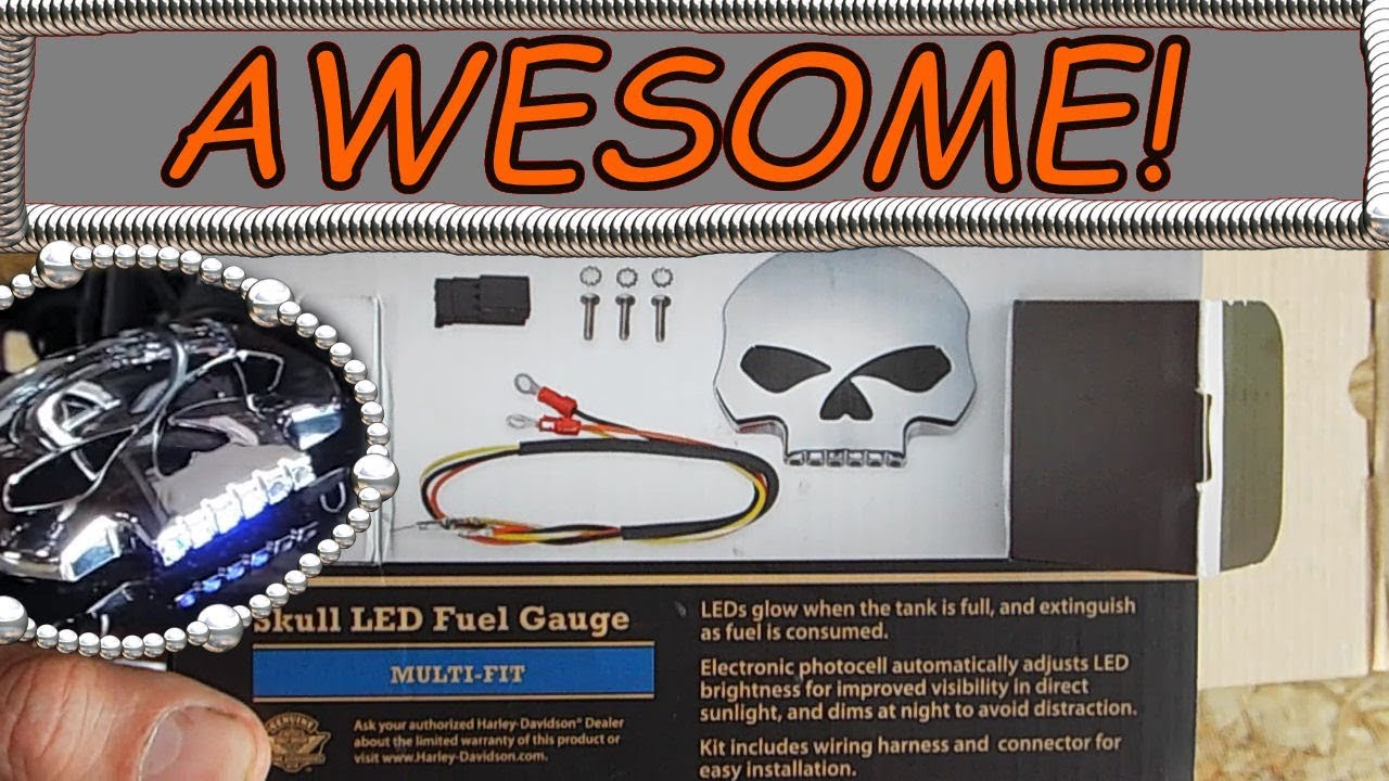 Installing Matching Skull Fuel Gauge and Gas Cap - YouTube on harley gas gauge, harley luggage rack wiring, harley coil wiring, harley gas tank, harley turn signal wiring, harley headlight wiring, harley fuel pump relay, harley tail light wiring, harley fuel sending unit wiring, harley dyna specs, harley ignition switch wiring, harley sportster gauges, harley generator wiring, harley voltage regulator wiring, harley tach wiring, harley flh fuel sending unit, harley magneto wiring, harley fuel sending unit replacement, ignition coil wiring,