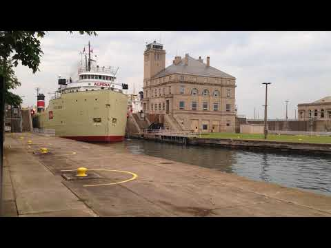 Great lakes freighter Alpena