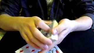Christpher BallingerのSharkギミックを使ったサンドイッチカードを考え...