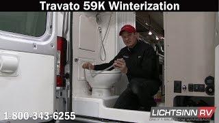 LichtsinnRV.com  How to Winterize a Winnebago Travato 59K