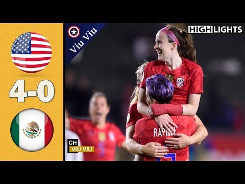[ Semi-Final ] USA Vs Mexico 4-0 All Goals & Extended Highlights | February 7, 2020