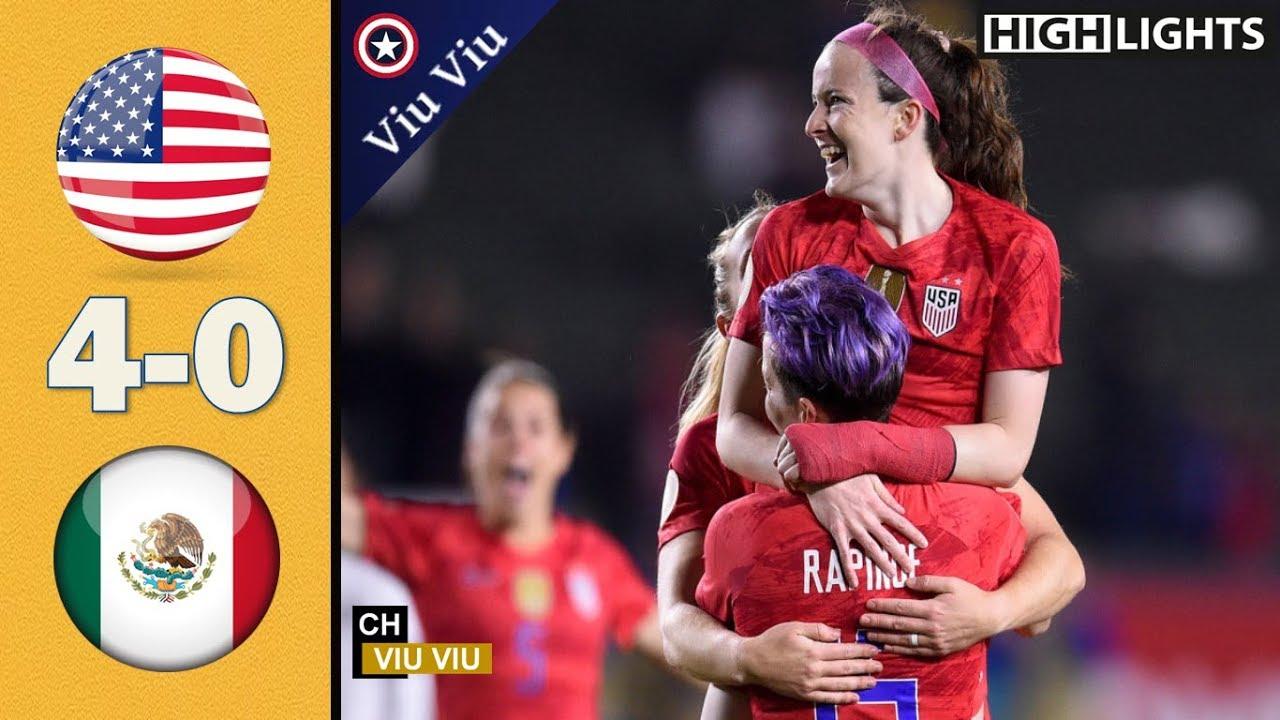 USA vs Mexico 4-0 HD| Women's Friendlies 05/07/2021 Highlights| Full Match Gameplay