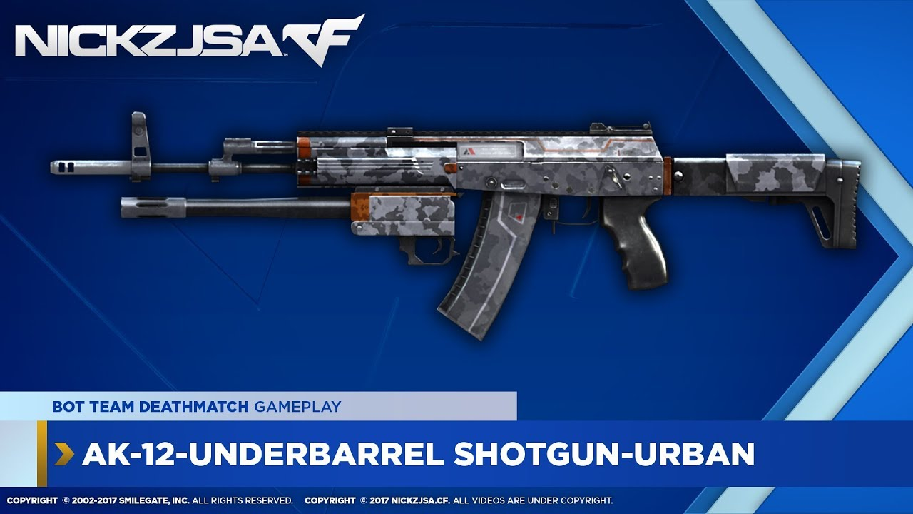 AK-12-Underbarrel Shotgun-Urban | CROSSFIRE China 2.0
