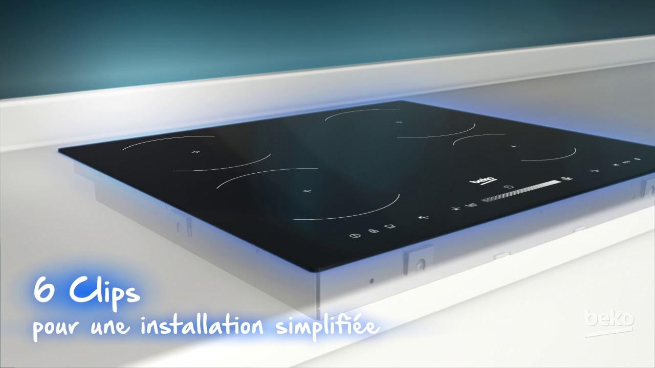 Différence Vitrocéramique Et Induction table induction beko avec système d'installation simplifiée