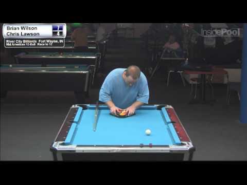 Chris Lawson vs Brian Wilson 2 at River City Billiards