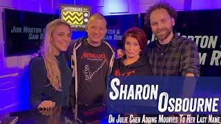 Sharon Osbourne On Julie Chen Adding Moonves To Her Last Name - Jim Norton & Sam Roberts