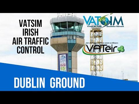 [VATSIM ATC] Dublin Ground [EIDW] Live Stream 18/02/2017