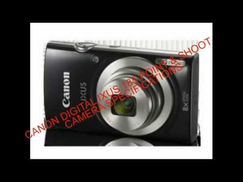 Canon Digital Ixus 185 Point Shoot Camera Specifications Unboxing Review
