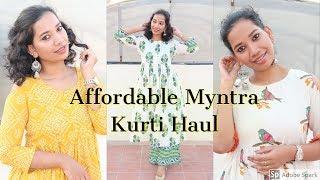 My Summer Kurtis from Myntra | Online Kurti Shopping | 2019