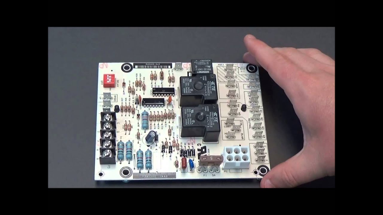 maxresdefault lennox r40403 003 circuit board youtube  at highcare.asia