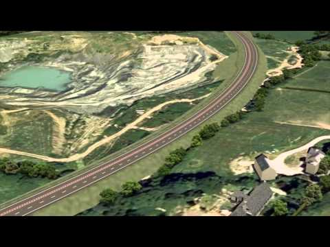 Video: Fly Through Of Proposed Caernarfon To Bontnewydd Bypass