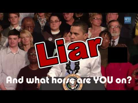 Obama Lies 16 times in under 3 minutes on ObamaCare