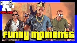 GTA 5 Online Funny Moments 5 Compilation Fails | Wins | Epic Moments | WTF Moments | Random Moments