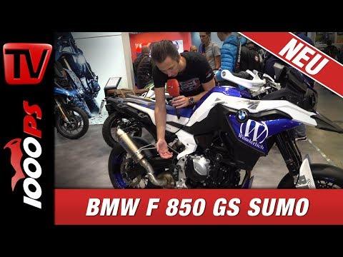 850ccm Supermoto - BMW F 850 GS Sumo - Wunderlich baut um
