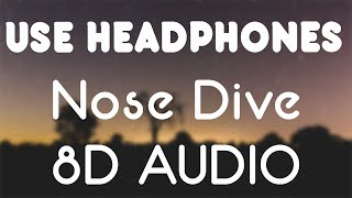 Chris Brown - Nose Dive ft. DaniLeigh (8D AUDIO)