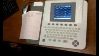 видео Электрокардиограф 12-канальный Edan SE-1200 Express