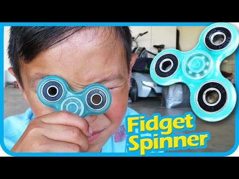 Fidget Spinner Toys Unboxing and Review by Kids   TigerBox ToysReview