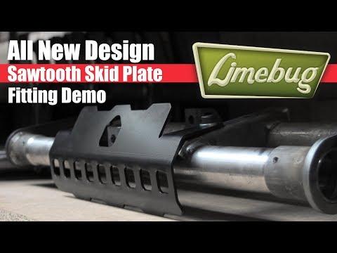 Limebug VW Beetle / Ghia Skidplate Installation Demo