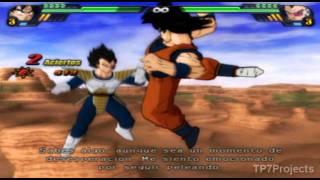 Dragon Ball Z Budokai Tenkaichi 3 Version Latino *BETA 2* Modo Historia Goku Vs Vegeta