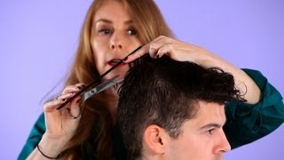 How to Cut Top Hair for Forward Motion | Hair Cutting
