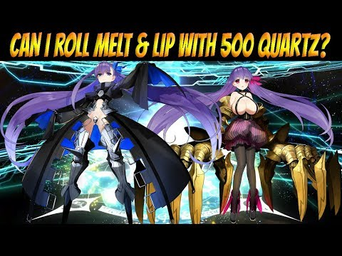 FGO NA: Can I roll Melt and Lip with 500 SQ?