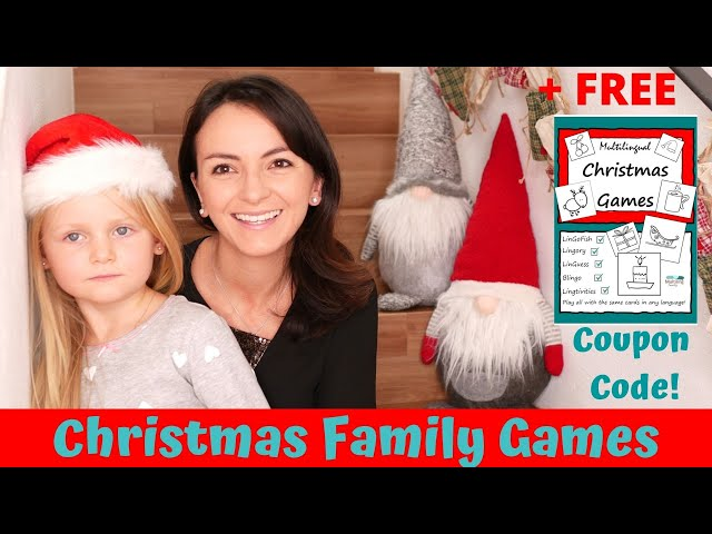 Easy and Fun Christmas Games for the Family 2020