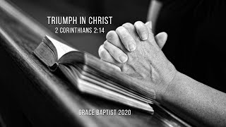 Grace Baptist Church of Lee's Summit - 10/25/20 Evening Service