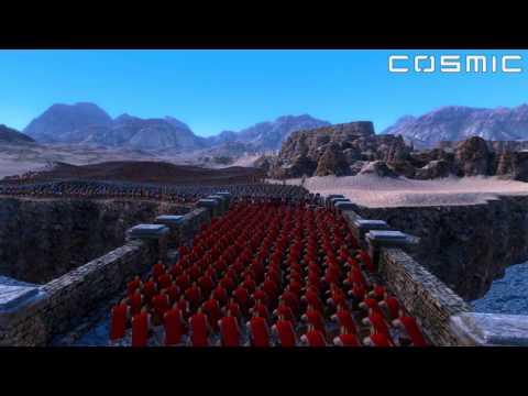 300 Spartans VS. 30,000 Romans - Ultimate Epic Battle Simulator