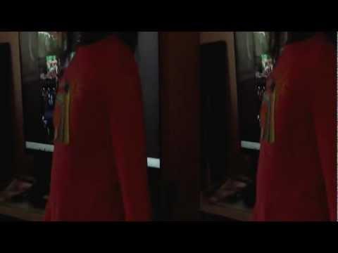 3D VIEW  cels rex  in gary barrow  queen's  diamond jubileee  song. HD