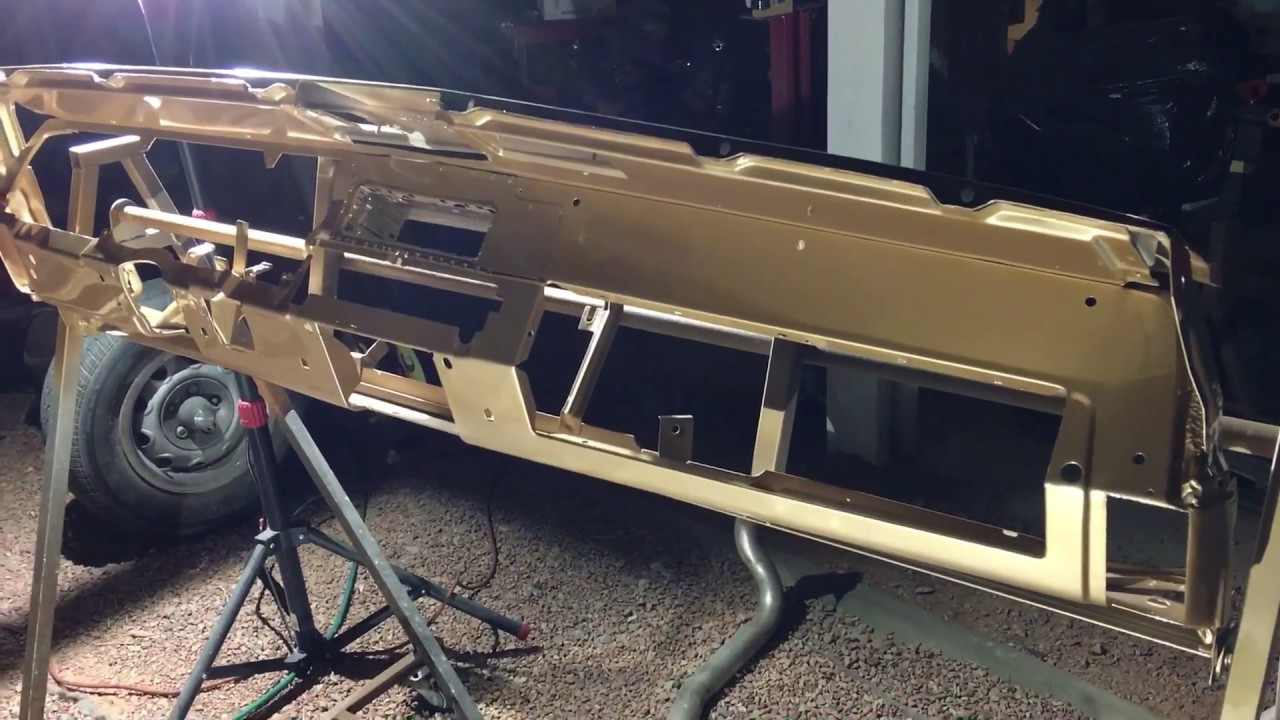 Part 7 Of 1969 Ratmuscle Turquoise Dodge Charger Dash Work