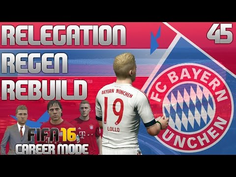 FIFA 16 Bayern Munich Career Mode - RRR - E45