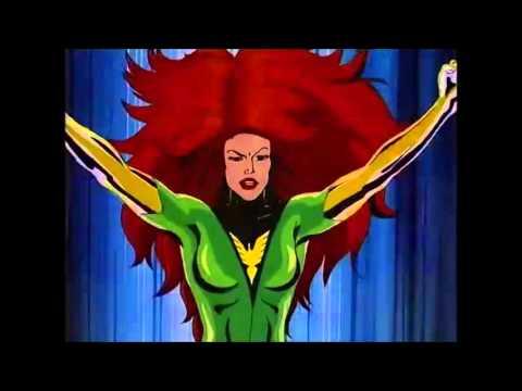 Jean Grey Becomes The Phoenix - X-Men Animated Series