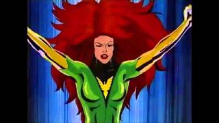 Jean Grey Becomes The Phoenix - X-Men Animated Series