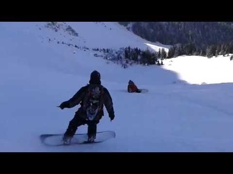 Video surf rando col de cou