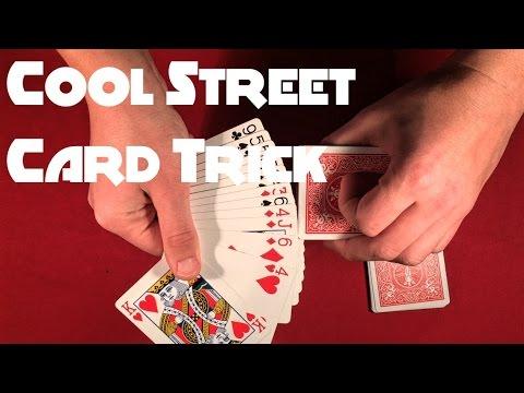 Cool Street Card Trick Tutorial!